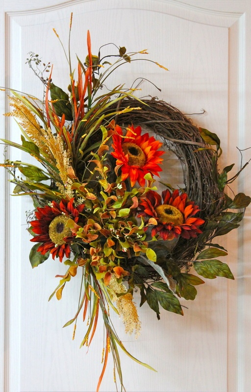 Front Door Wreaths...........Hand-Crafted Florals! - Floral Wreaths