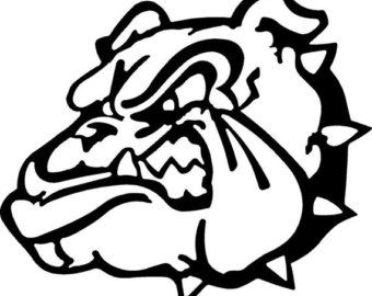 school bulldog coloring pages - photo#23
