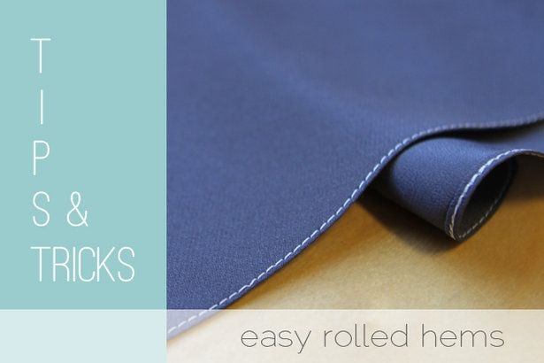 Rolled Hem Tutorial
