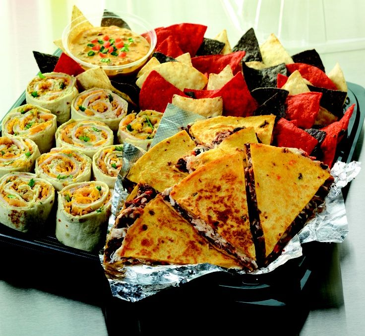 Indian Food Party Trays