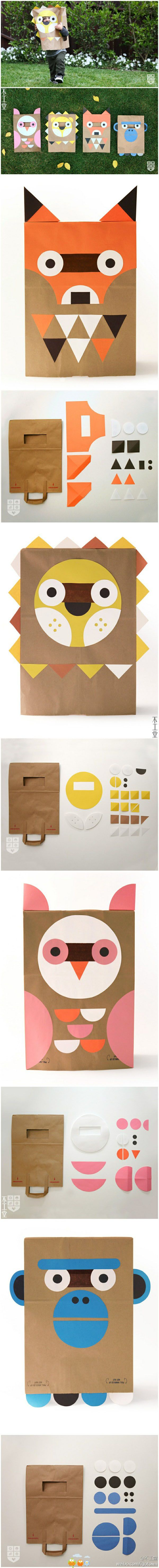 These big paper bag craft ideas are larger than life!