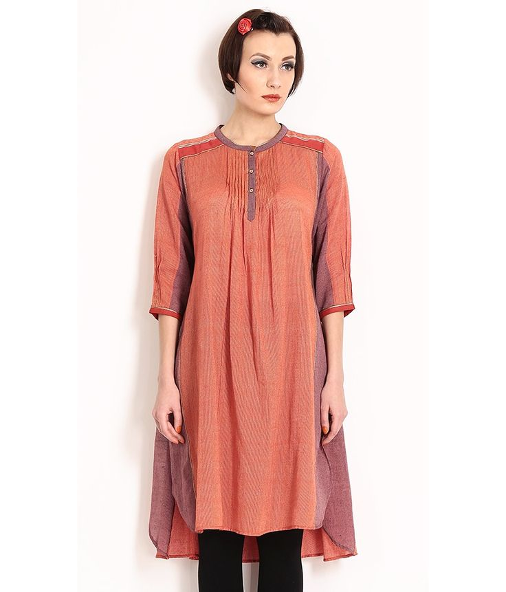 Nida Mehmood Handloom Cotton Kurta, http://www.snapdeal.com/product/nida-mehmood-handloom-cotton-kurta/379917928