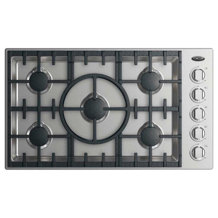Dcscooktopcdv2365 gas cooktop stainless steel