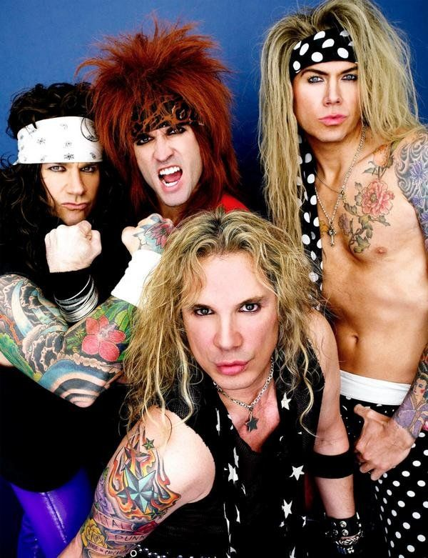 "Steel Panther is an American rock band from Los Angeles, California, mostly known for their profane and humorous lyrics, as well as their exaggerated on-stage personae that parody the stereotypical 1980s ""glam metal"" lifestyle."