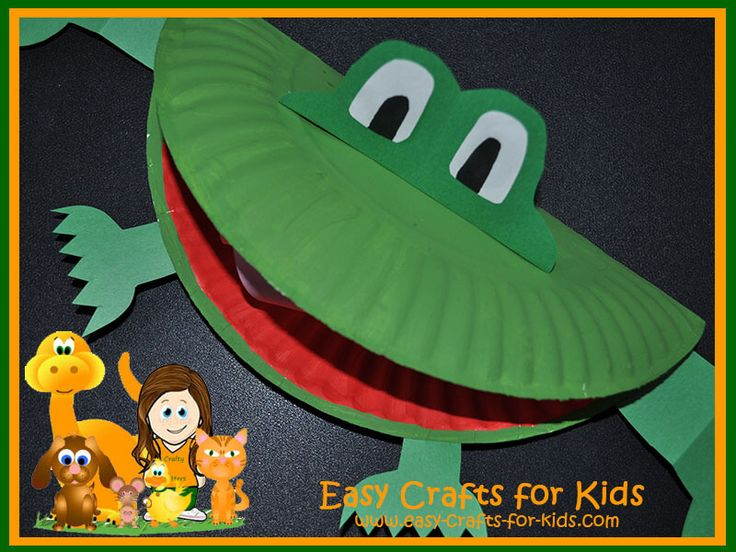 RIIBBIITT!! Cute frog crafts for kids from Easy Crafts for kids!