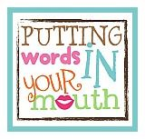 Putting Words in Your Mouth: A blog for all things speech, language, education & whatever else comes along. Pinned by SOS Inc. Resources. Follow all our boards at pinterest.com/sostherapy for therapy resources.