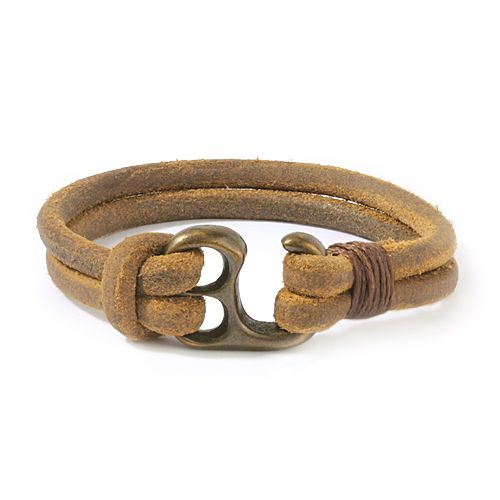 leather hand made bracelets