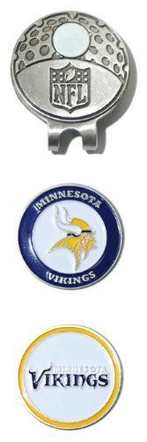 NFL Minnesota Vikings Cap Clip With 2 Markers by Team Golf. $12.99. NFL Minnesota Vikings Cap Clip With 2 Markers. Save 28% Off!
