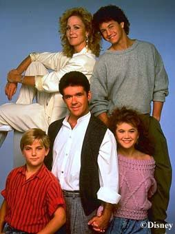 Growing Pains...  i remember  signing a petition at school  when  abc  was going to cancel this show...  i think i was in 6th grade....lol