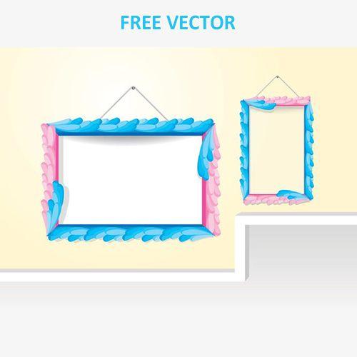 Винтажные декоративные рамки вектор