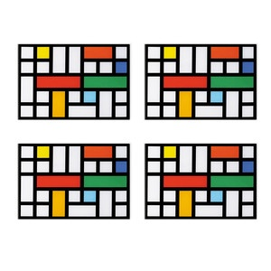 Lattice Placemats Set Of 4, 36€, now featured on Fab.