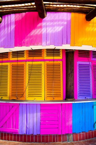 Colours in Durban, S.A.