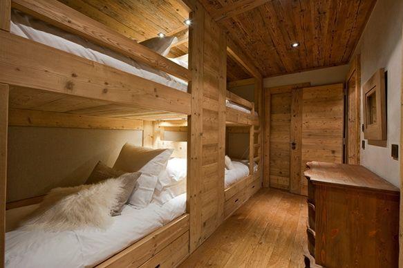 Letti a castello in legno. Idee Case Canuto  Idee per case, baite di ...