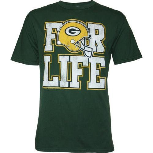 Green Bay Packers Fan For Life Men's T-Shirt by Junk Food, Medium  https://allstarsportsfan.com/product/green-bay-packers-fan-for-life-mens-t-shirt-by-junk-food-medium/  Green Bay Packers Fan For Life Men's T-Shirt by Junk Food, Medium
