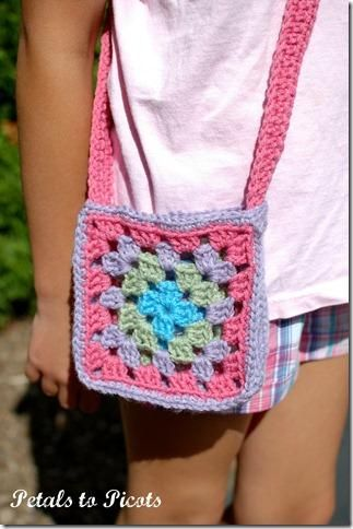 granny square crochet bag on Etsy, a global handmade and