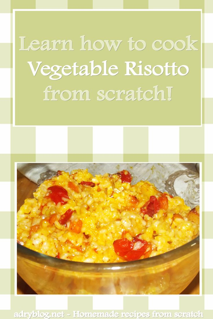 Vegetable risotto is incredibly quick and easy to prepare. And it's so good, you're gonna want seconds! Learn how to cook quick risotto from scratch!