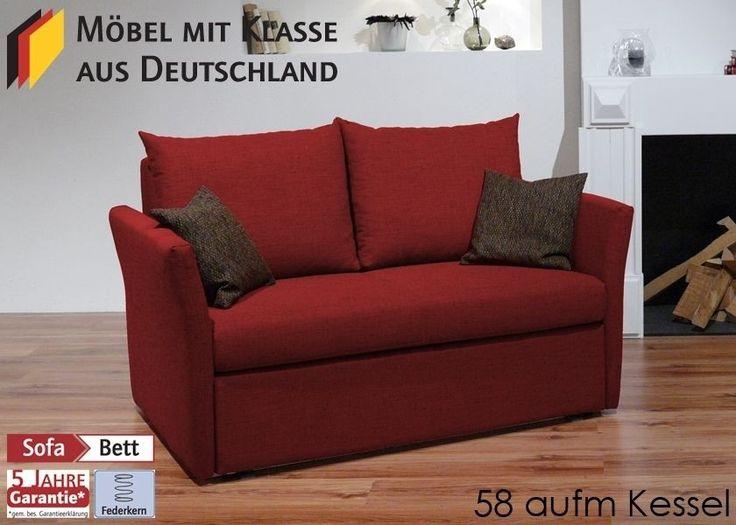 Schlafsofa Bettsofa Sofa m. Funktion Beere 3124. Buy now at https://www.moebel-wohnbar.de/schlafsofa-bettsofa-sofa-m-funktion-beere-3124.html