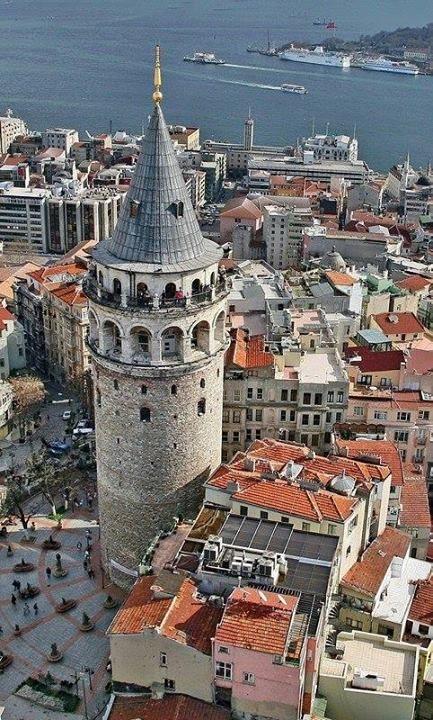 Galata Tower Istanbul - By Yıldırım İncealemdaroğlu