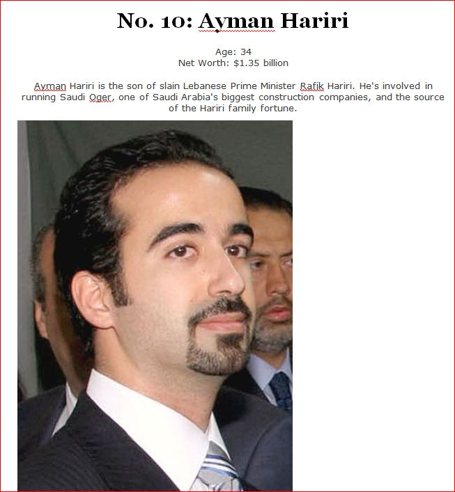 Ayman Hariri - Forbes