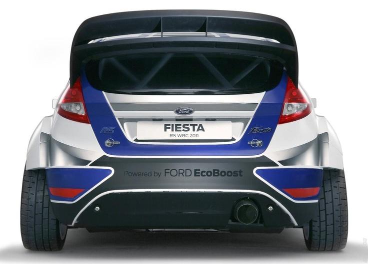 2011 Ford Fiesta Rs Wrc Ford Motorsport Ford Fiesta Rally Car