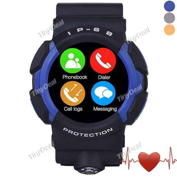 Presell NO.1 A10 Smart Watch MTK2502 Call SMS Reminder Pedometer Heart Rate UV Monitor Water/Dust/Shock Proofing E-498472