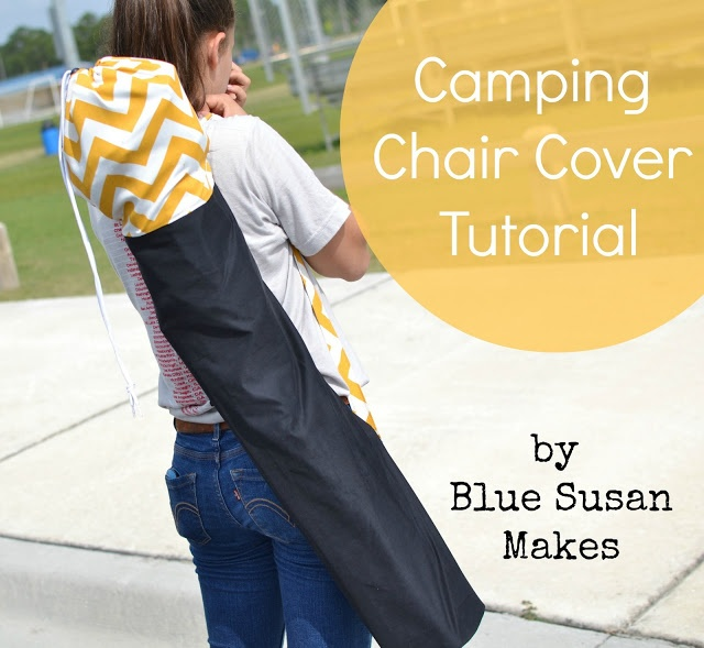 blueSusan makes: I Am A Soccer Mom : Soccer/Camping Chair Cover Tutorial