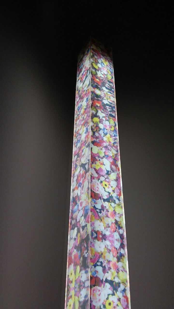 MIRROR FLOWER LAMP, www.riccardoschiavon.com