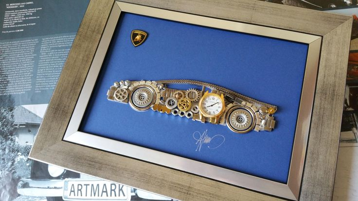 Lamborghini car Code M 217, Men gifts, Steampunk decor, Vintage design, Lamborghini car, Steampunk art, CarsCollage car, Lamborghini poster by GoldGallery on Etsy