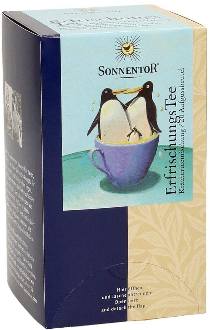 Sonnentor Frissítő tea - Teafilter, 20 db