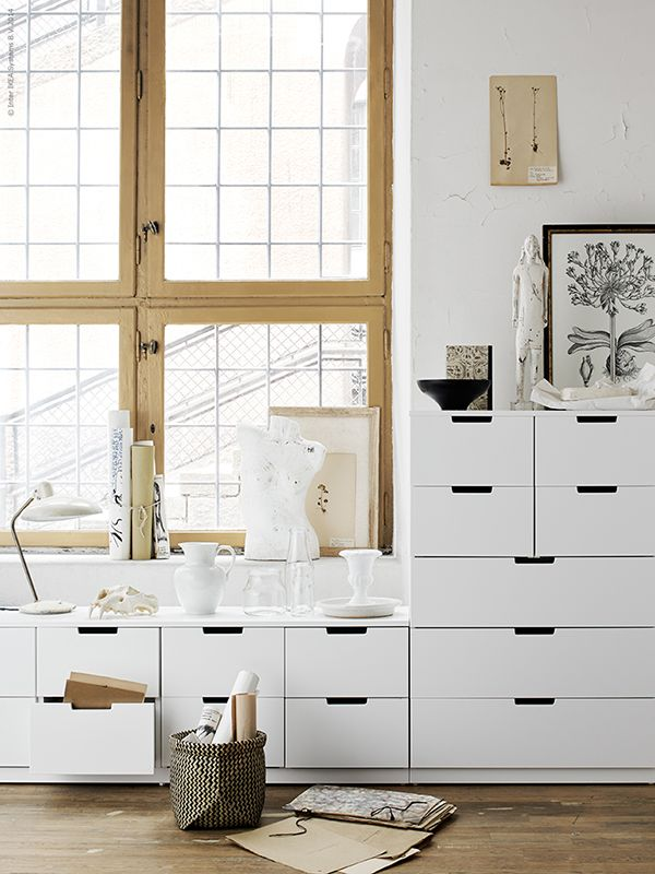 Those'd be great in my craft room. (Nordli | Ikea)
