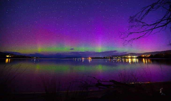 Aurora Australis - Howden, Tasmania, Australia