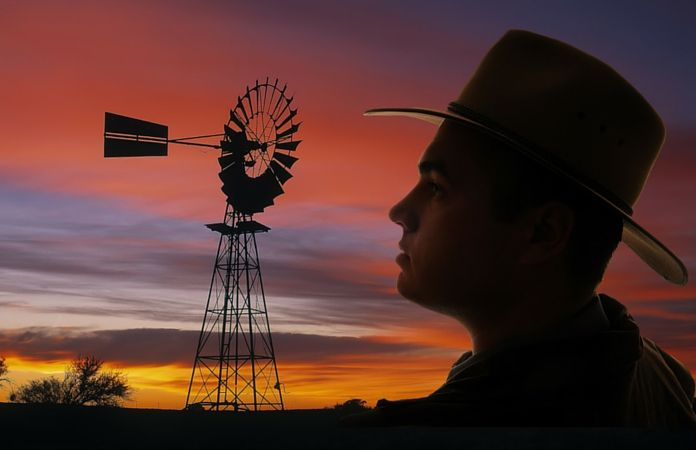 At the age of 22, Andrew had an out-of-body experience as he fell from a windmill on his family's sheep station.