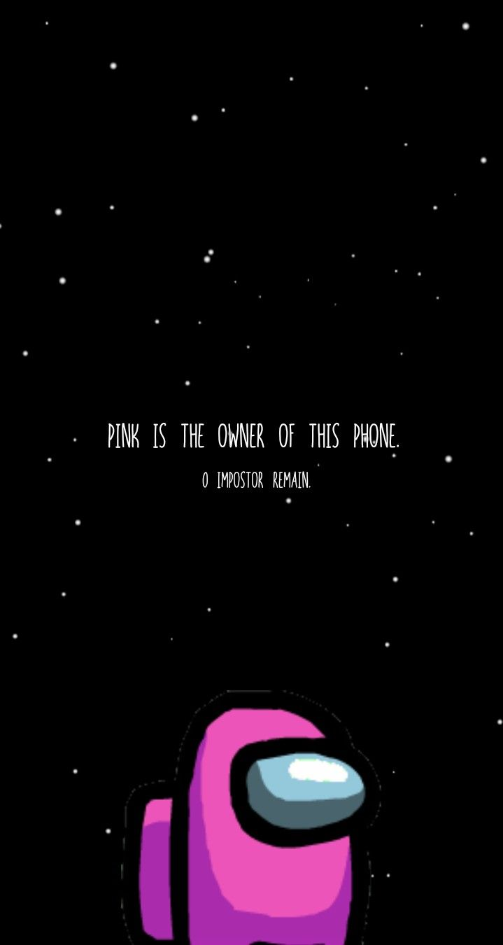 Pink Crewmate Among Us Wallpaper Cool Backgrounds Wallpapers Butterfly Wallpaper Iphone Hype Wallpaper