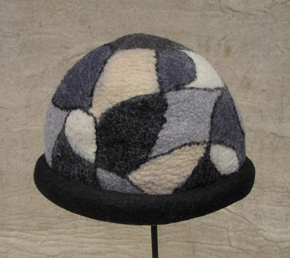 handmade felt hat - pure wool # Fashionable # Hat