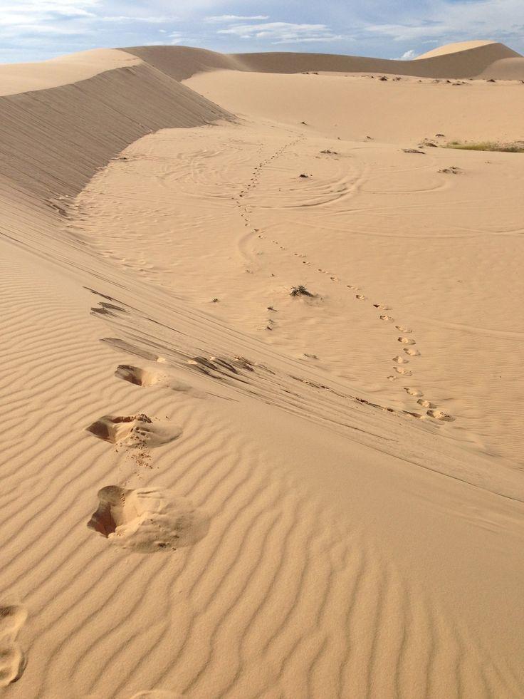 Sand Dunes in Mui Ne, Vietnam - 2013