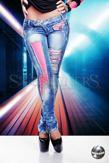 Jeans Ocassion Cotton Candy Blue