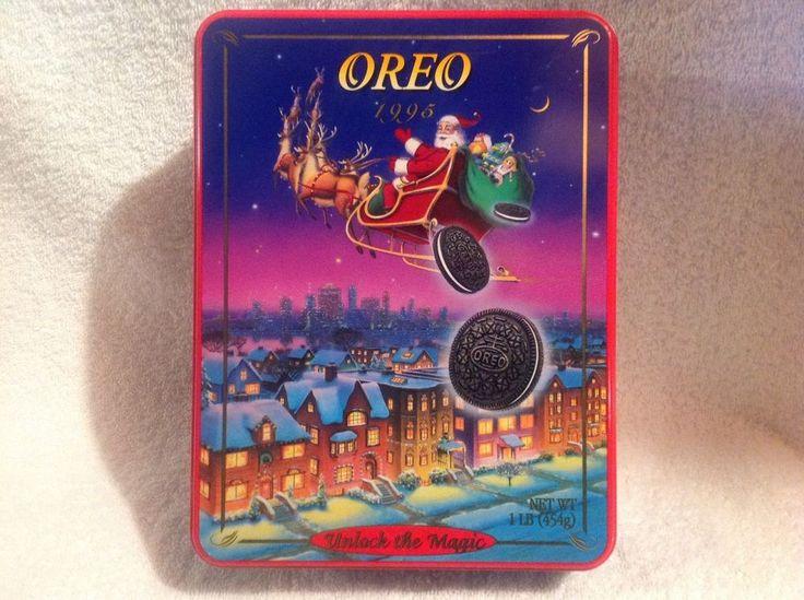 Oreo Tin 1995 Commemorative Limited Edition Tin Christmas