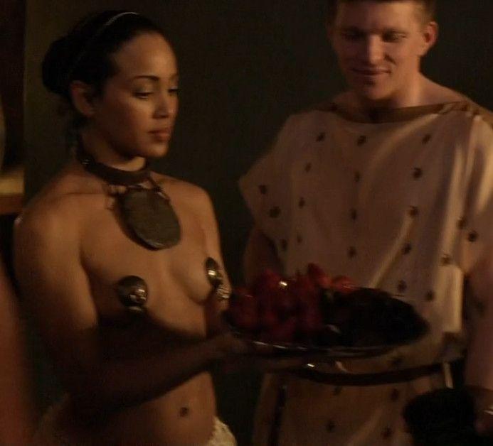 Topless women onbeach