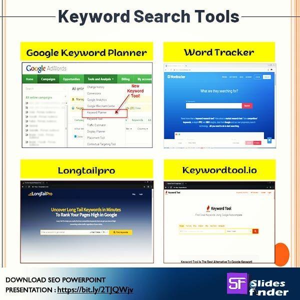 Google Keywordtool Seo Tool Seotool Keyword Researchtool Slidesfinder Ppt Pptpresentation Presenations Ppt Presentation Slides Keyword Planner Presentation Topics