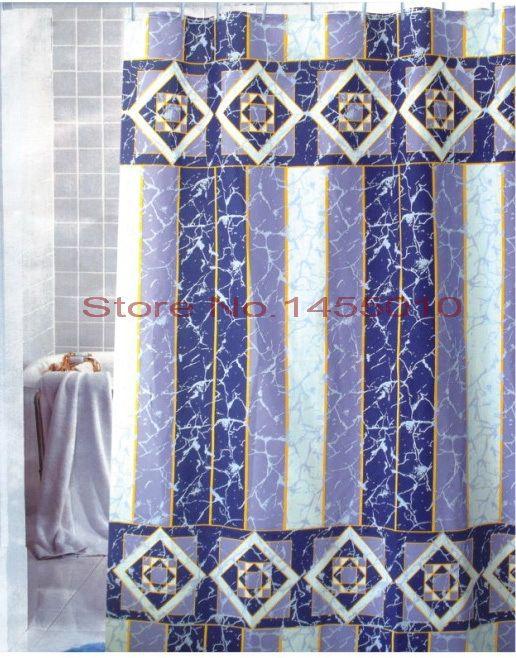 Расширить полиэстер terylene анти-трещины водонепроницаемый сгустите занавески для душа ванная комната занавески для душа, 240 см * 180 см