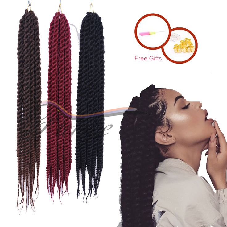 177 best havana braids images on pinterest hair strand afro and aliexpress buy 12 14 16 18 20 22 24 inch braiding hair synthetic pmusecretfo Images