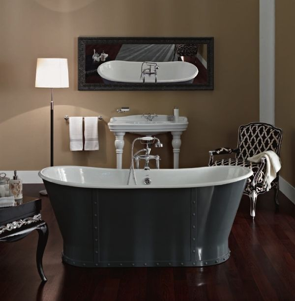m s de 1000 ideas sobre baignoire fonte en pinterest. Black Bedroom Furniture Sets. Home Design Ideas