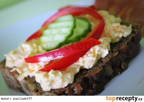 Mrkvovo-celerová pomazánka s tvarohem