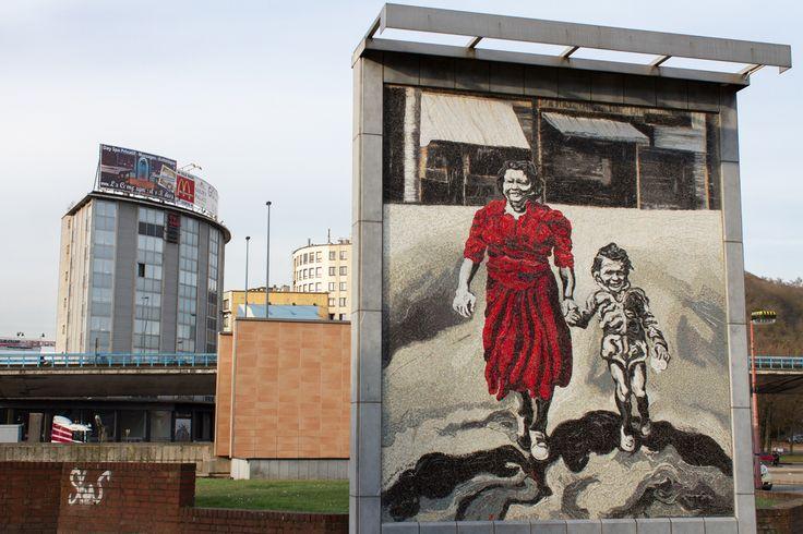 From the series 'Souvenir de Charleroi' by Derk Zijlker