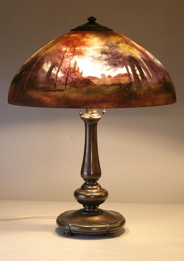 Where To Buy Lamp Shades Captivating 40 Best Reverse Painted Lamps Images On Pinterest  Vintage Lamps Inspiration Design