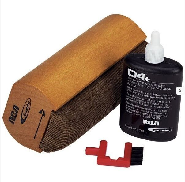 RCA Discwasher D4+ Wet Vinyl Record Care System Brush Pad #DiscwasherRCA