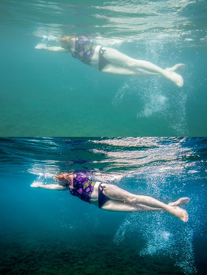 How To Edit Underwater Photography - DIY Photography