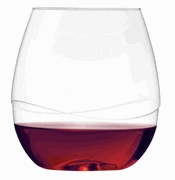 $5.95 S/2 Shatter-proof Stemless Wine Glasses - Picnic, anyone?