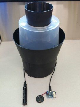 Mosquito trap with sound-lure attached.  Sex sells when it comes to luring male mosquitoes, a new study has found. Researchers set out to make a cheap and effective audio lure for scientists collecting male Aedes aegypti mosquitoes -- the species that carries dengue and yellow fever. They found a tone of precisely 484 Hertz, the frequency of a female Aedes aegypti's wings, brought 95 percent of male mosquitoes to the trap.