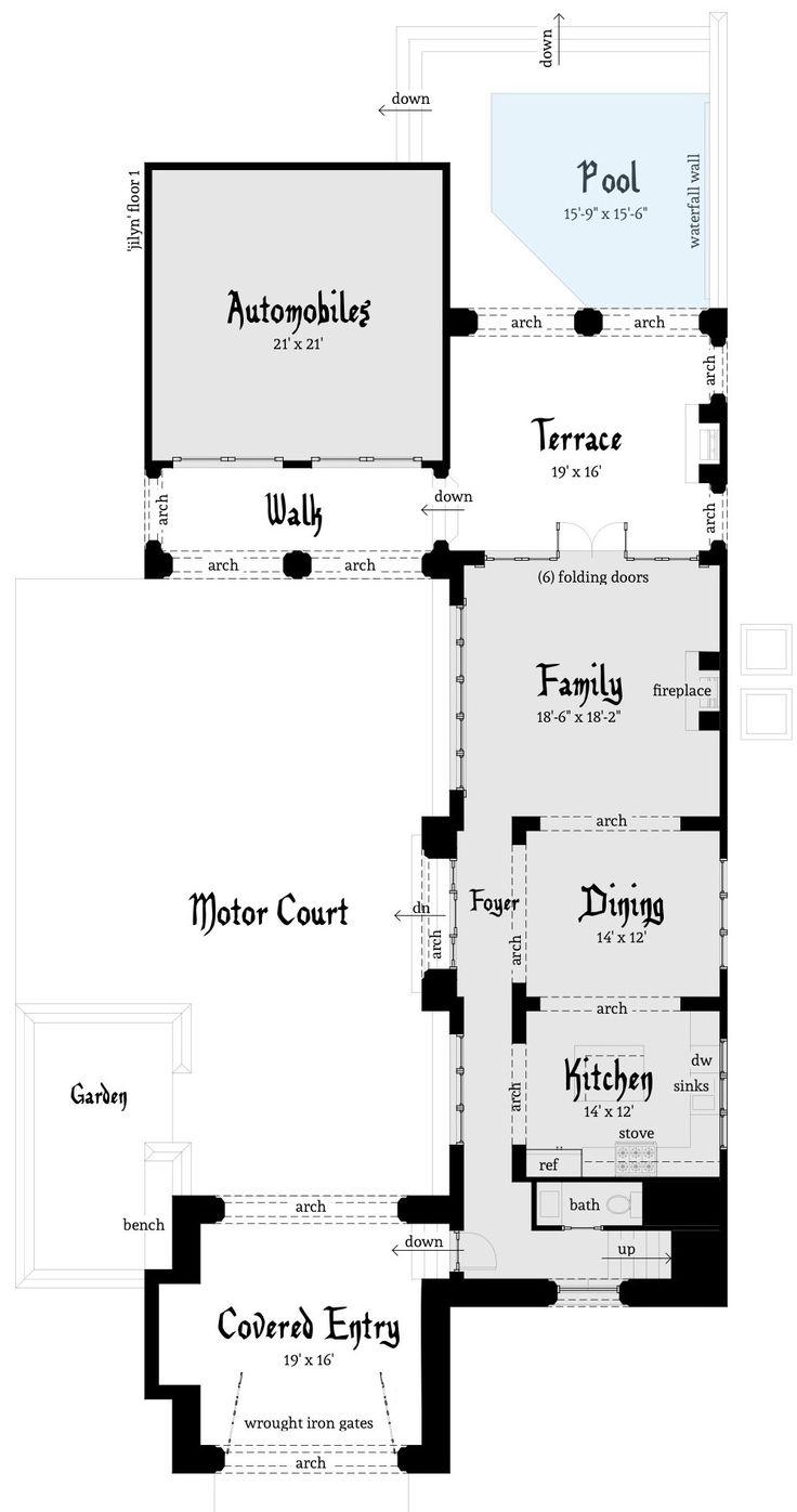 494 best house designs images on pinterest house design 4 2 5 castle dantyree com modern house plans unique house plans
